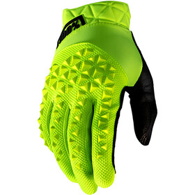 100% Geomatic Guantes, yellow/black